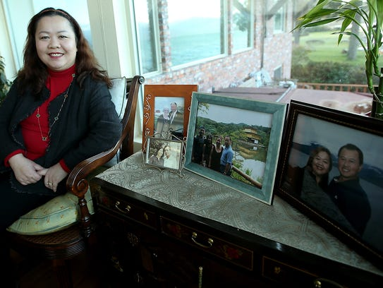 Silverdale physician Oanh Truong at her Seabeck home