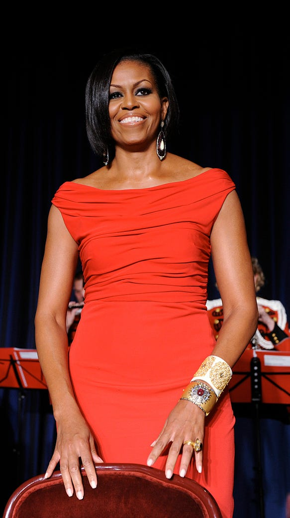 Michelle Obama's best White House Correspondents' Dinner looks