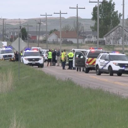 Police say the shooting of a motorist on Interstate