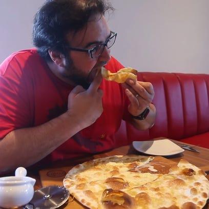 Republic dining critic Dominic Armato eats Focaccia