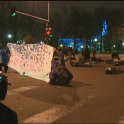 Denver protesters took to the streets for a second