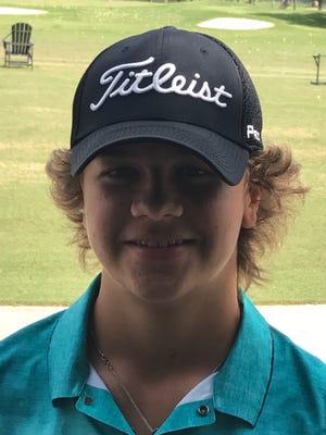 Wylie sophomore golfer Ethan Stewart-Duke