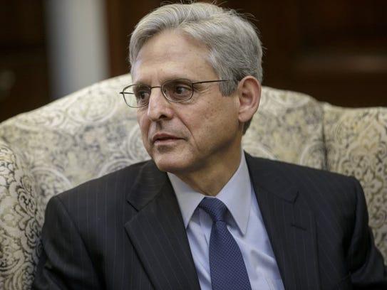 Judge Merrick Garland, President Barack Obamaís choice