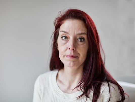 redhead midadult woman portrait