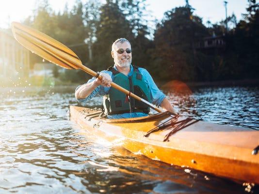 man_kayak