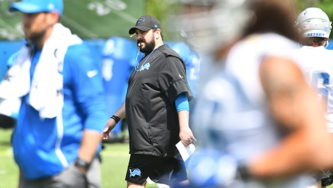 Matt Patricia practiced the Lions hard this offseason, which might pay off in Miami's heat Sunday.