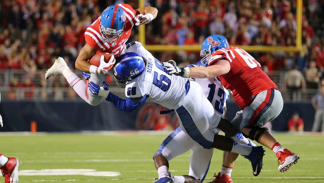 Ole Miss will kick off against Memphis at 11 a.m. on Oct. 17.