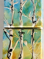 Paintings by Karen Ellsbury will be included in the show at Studio 116 during this weekend's holiday art walk.