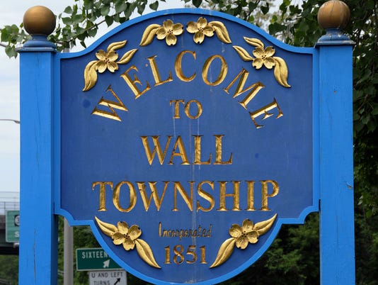 WELCOME TO SIGN - WALL TOWNSHIP
