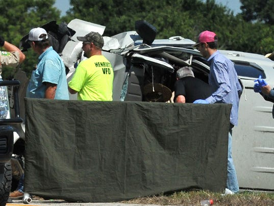 Fatal accident on 287