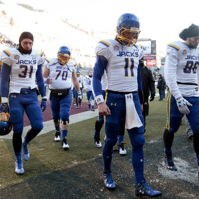 The Jacks walk off the field after their season ended