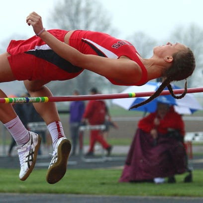 Bucyrus senior Gabby Seibert finished fourth in the