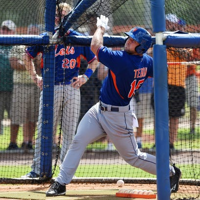 Tim Tebow, shown in this file photo from Monday's first