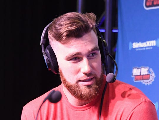 Former University of Cincinnati tight end Travis Kelce is now a Pro Bowl player for the Kansas City Chiefs.