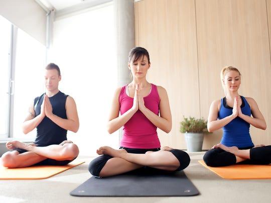 Yoga is still popular.
