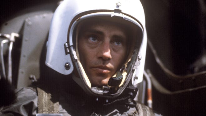 "Sam Shepard as Chuck Yeager from the movie ""The Right Stuff."""