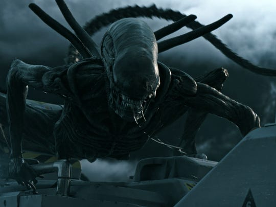 "A scene from ""Alien: Covenant."""