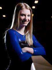 O'Gorman gymnast Lizzie Miller