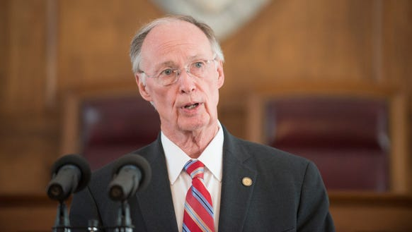 Governor Robert Bentley speaks about medicaid adjustments