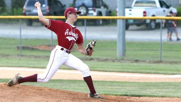 The Asheville American Legion Post 70 baseball team