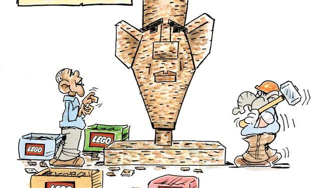 Charlie Daniel cartoon for Wednesday, Jan. 4, 2017