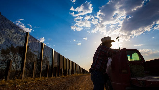 John Ladd's 16,000-acre cattle operation in Naco, Arizona, shares a border with Mexico. He says he's been frustrated for years by the illegal border crossers and drug smugglers who cut through his ranch, but he doesn't think a wall would solve the problem.