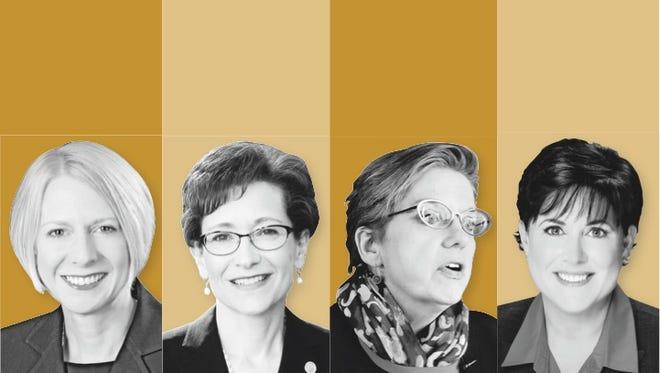 Heidi Macpherson, Denise Battles, Anne Kress, Deana Porterfield.