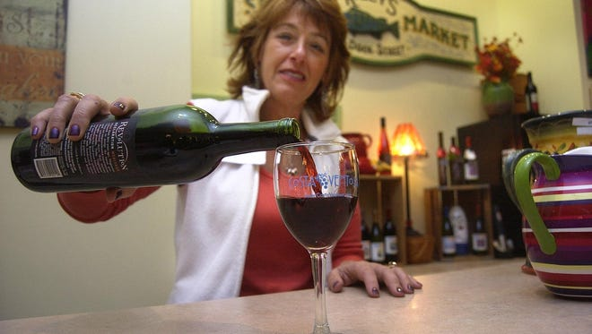 Costa Ventosa Winery owner Kathryn Danko-Lord is offering a white merlot this fall – the result of a winemaking experiment she says her customers love.