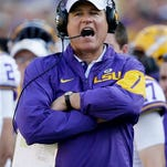 LSU coach Les Miles has the support of at least one Board of Supervisors member.