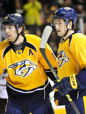 James Neal has missed the past five games with an upper-body injury, but practiced Wednesday.