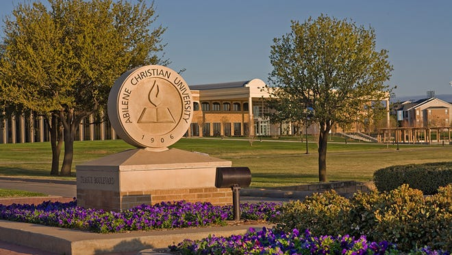 Abilene Christian University entrance
