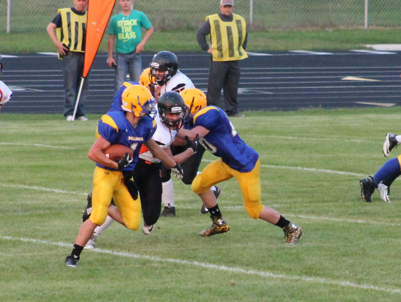 Baltic take on Howard earlier this season. The Bulldogs won the game 42-0.