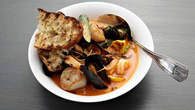 The bouillabaisse at Little Cleo's Seafood Legend at the Yard is a well-stocked shellfish stew with fennel and a light saffron accent. This will be one of the available dishes on their Arizona Restaurant Week menu.