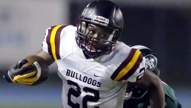 West Allis Central running back Glenn Martin had a big finish to his 2017 seaosn.