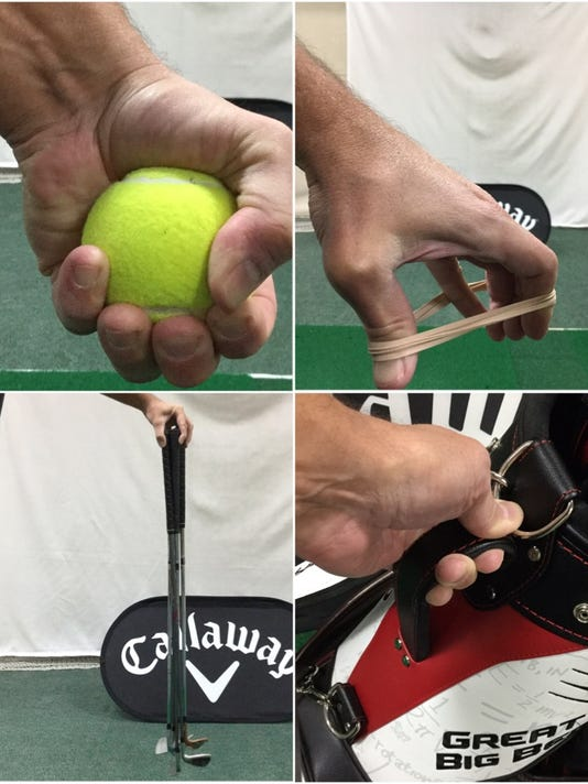 Forearm and wrist exercises to help improve your golf game