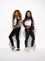 """Salt-N-Pepa are among nostalgic hip-hop acts lined up for the """"I Love the '90s Tour,"""" which stops Thursday, Dec. 8, at the Landers Center."""