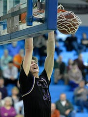 Matt Wyman led Carroll College to victory over Montana Tech on Monday night. The former Great Falls High star scored 25 points and grabbed 10 rebounds.