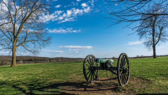 The first Civil War battle fought west of the Mississippi occurred at Wilson's Creek in Republic, Mo.