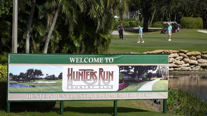 Hunters Run Golf and Country Club in Boynton Beach has ordered a mandate to keep out all guests, including family members.