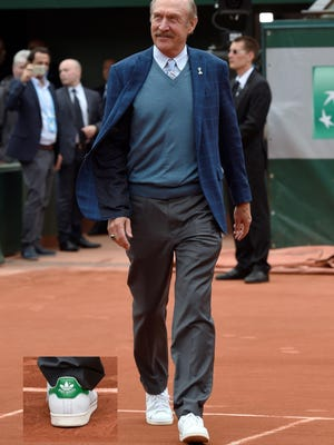 1970s tennis star Stan Smith is known worldwide because of the adidas sneaker that bears his name.