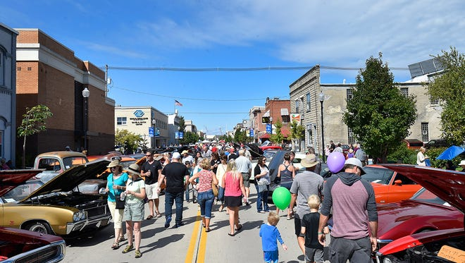 Sturgeon Bay holds its Fall Festival in 2016. The popular Harvest Festival won't be held this year in Sturgeon Bay.