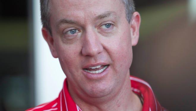 University of Arizona Athletic Director Greg Byrne.
