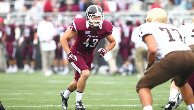 Stephen Hodge of Shawnee was named FCS All-American at Fordham.