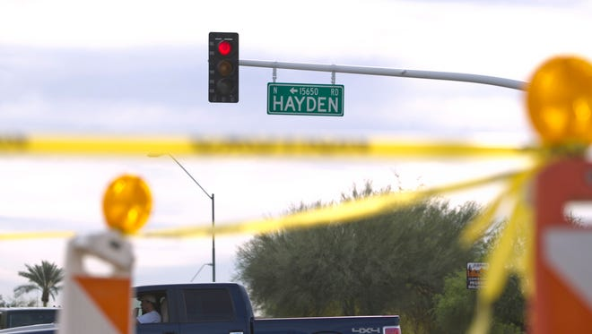 Hayden Road once was just a three-mile section, but became a major thoroughfare in the 1970s.