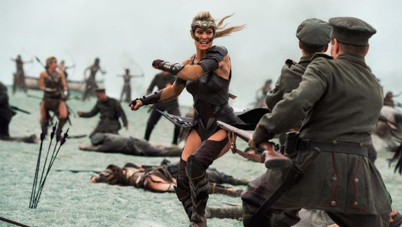 "Robin Wright in ""Wonder Woman,"" a Warner Bros. Pictures"
