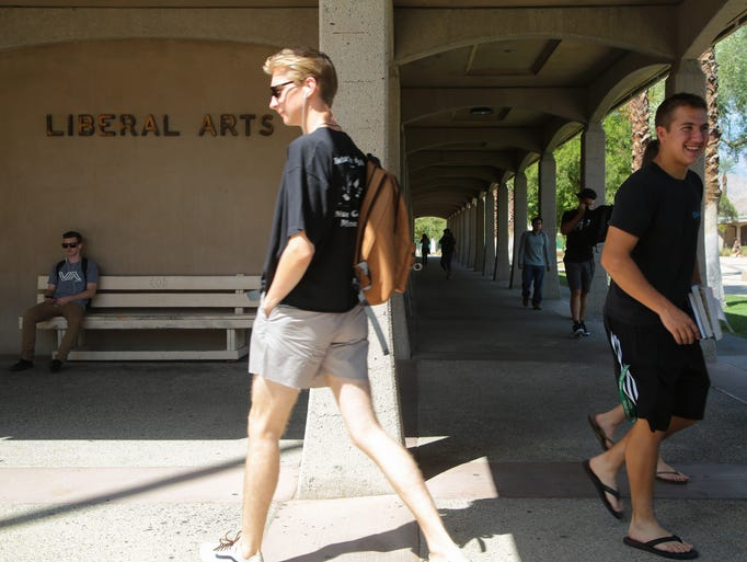 Students return to campus for the fall semester at