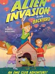 'Alien Invasion in my Backyard' by Ruben Bolling