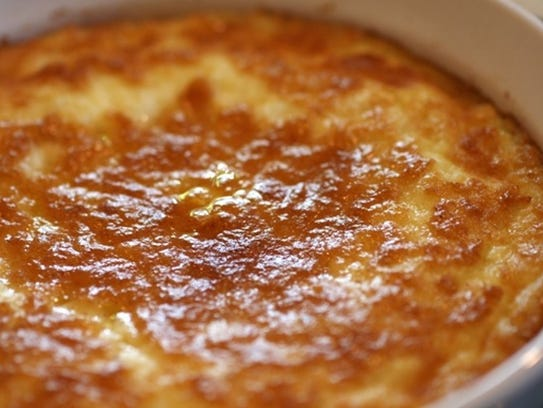 Corn pudding souffle from James Secula of Gilbert.