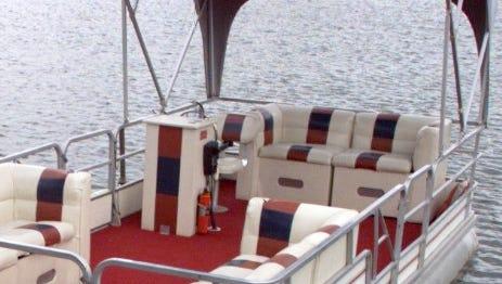 Pontoon boat and a sad tale.