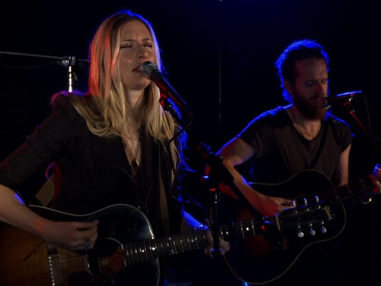 Holly Williams performs for USA TODAY's StudioA
